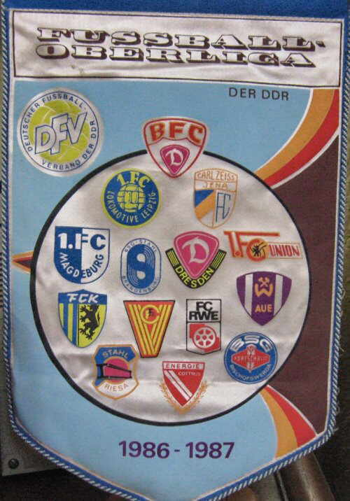 DDR Fußball 86 - 87