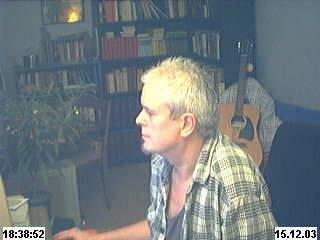 Frank Weber am PC