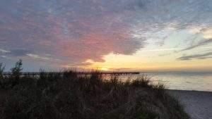 Lubmin Sonnenuntergang