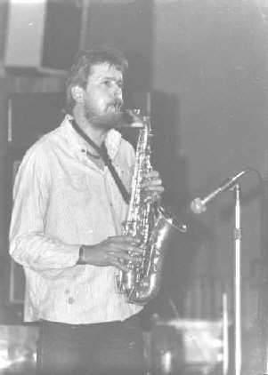 Frank Weber, Saxophon, Konform, Greifswald
