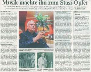Frank Weber, das arme Stasiopfer. *g*