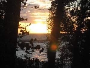 Seebad Lubmin Sonnenuntergang