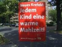 Wahlkampfplakat SPD 2009 Krefeld