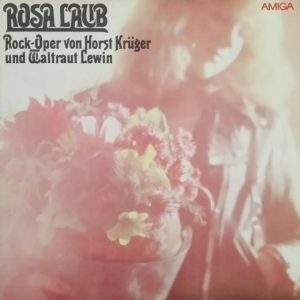 Rosa Laub Amiga Plattenvover