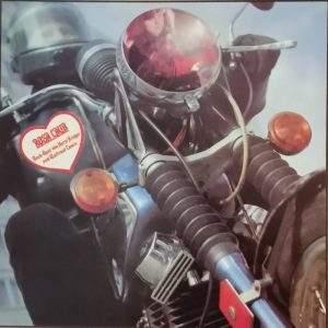 Rosa Laub Amiga Platte Motorrad