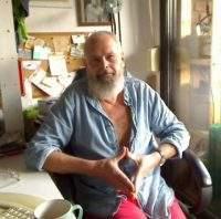 Frank Weber Raute Zeichen sitzen
