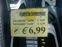 Bequemes Angebot in Landdeutsch