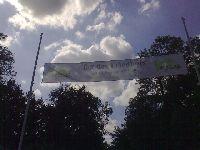 Party auf dem Friedhof in Krefeld